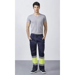 Pantalón Multibolsillos Alta Visibilidad Verano