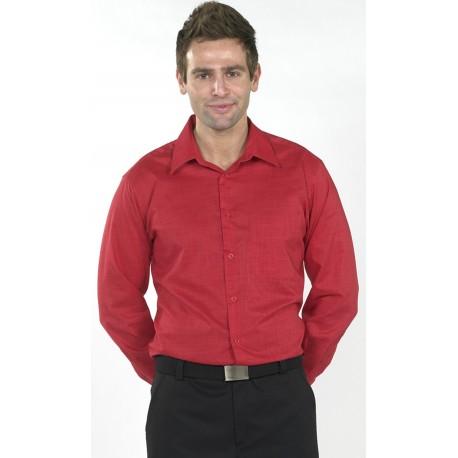 Camisa M/L Imitación Lino