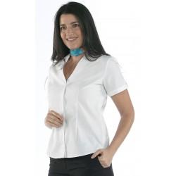 Blusa Mujer Cuello Caja V M/C
