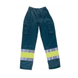 Pantalón Multibolsillos Bicolor Alta Visibilidad