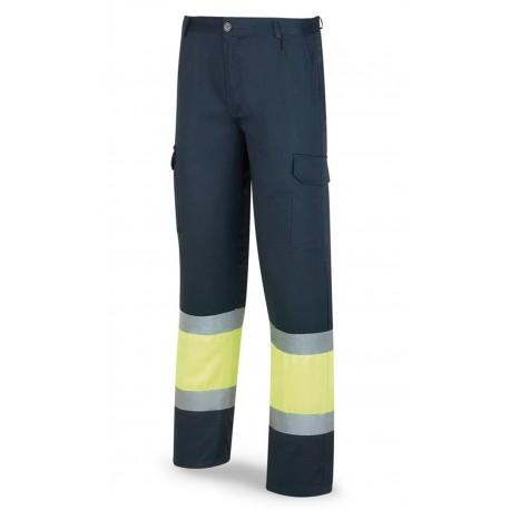 Pantalón Bicolor Alta Visibilidad con Forro