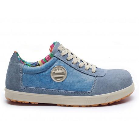 Zapato Mujer S1P SRC Ante Efecto Vintage