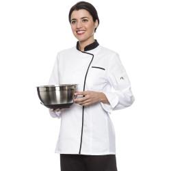 Chaqueta Cocina Mujer con Rejilla Transpirable