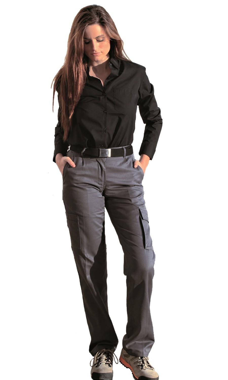 Pantalon Multibolsillos Mujer