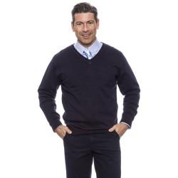 Jersey Hombre Cuello Pico 100% Algodón