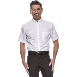 Camisa Manga Corta Cuello Mao