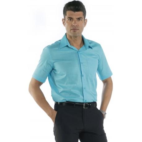 Camisa M/C Imitación Lino