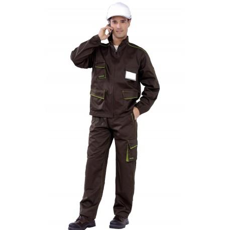 Pantalón Multibolsillos Bicolor