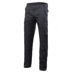 Pantalón Multibolsillos Elástico