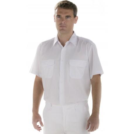 Camisa con Hombreras M/C