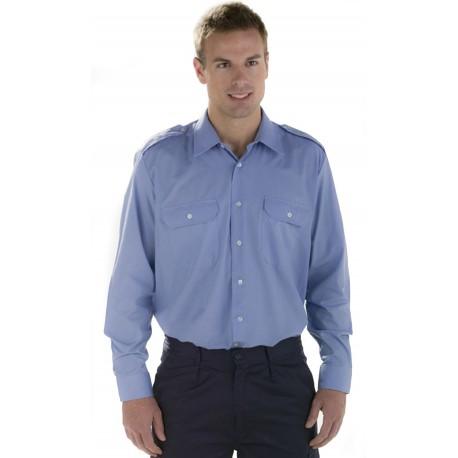 Camisa con Hombreras M/L