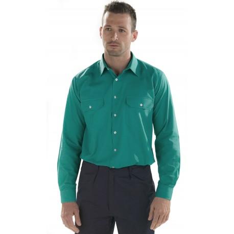 Camisa Manga Larga Dos Bolsillos