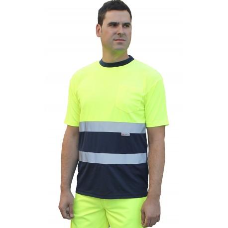 Camiseta Transpirable Alta Visibilidad