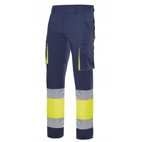 Pantalón Stretch Alta Visibilidad Bicolor