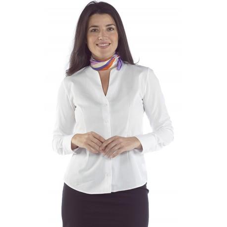 Blusa Mujer Cuello Caja V M/L