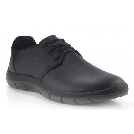 Zapato con cordones lavable