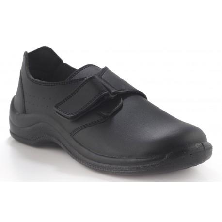 Zapato velcro liso.