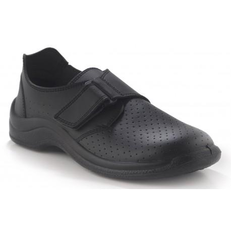 Zapato velcro perforado