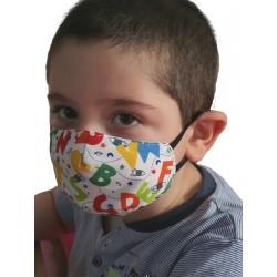 Pack de 4 Máscaras para Niños. Higiénica Homologada según norma UNE0065