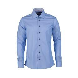 Camisa de Rayas Slim 100% Algodón