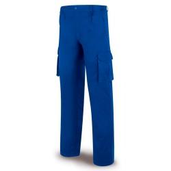 Pantalón multibolsillos con cintura elástica 100% Alg, 245g/m2