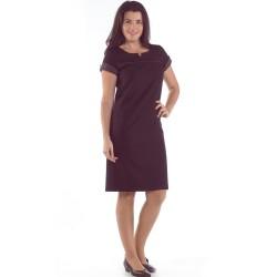 Vestido elástico Forrado Poliéster - Viscosa - Elastano