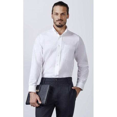 Camisa Oxford Hombre Un Bolsillo
