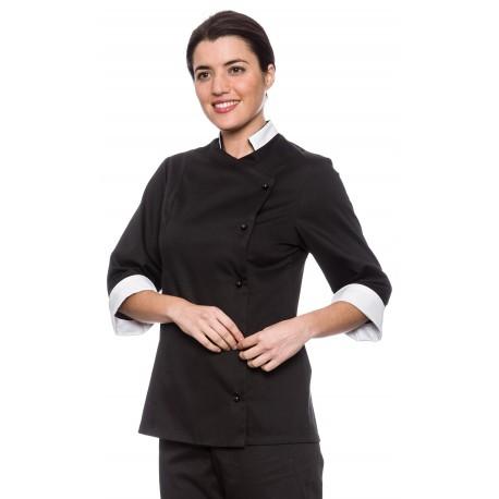 Chaqueta Cocinera Mujer Antimanchas