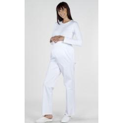 Pantalón Embarazada Blanco