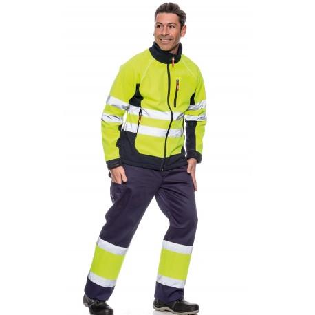 Pantalón Bicolor Forrado Alta Visibilidad
