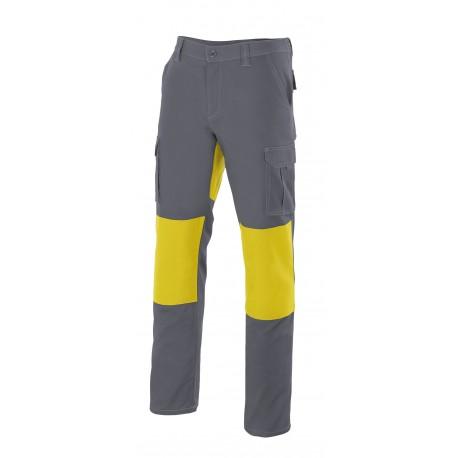 Pantalón Bicolor con Refuerzos