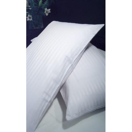 Pack Funda Almohada 50% Pol - 50% Alg 45x115 cm